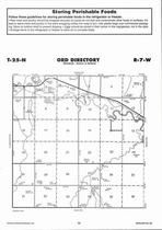 Ord Township, Antelope Creek, Directory Map, Antelope County 2006